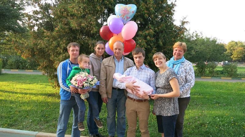 Семья победительнцы конкурса