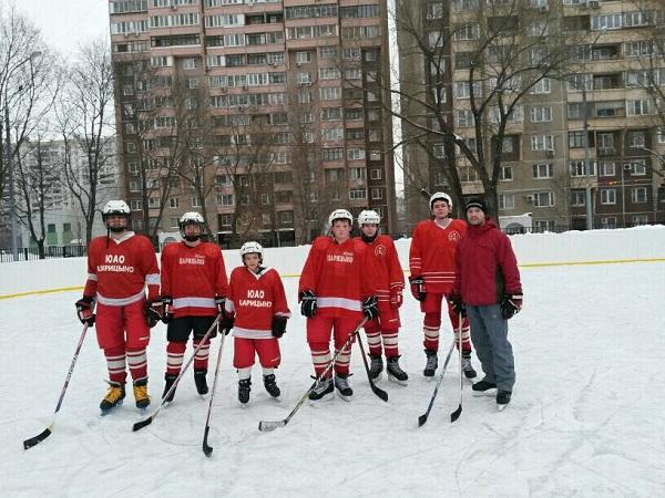 Хоккеисты Царицына