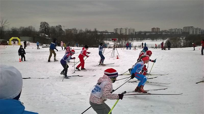 Соревнования по лыжному спорту