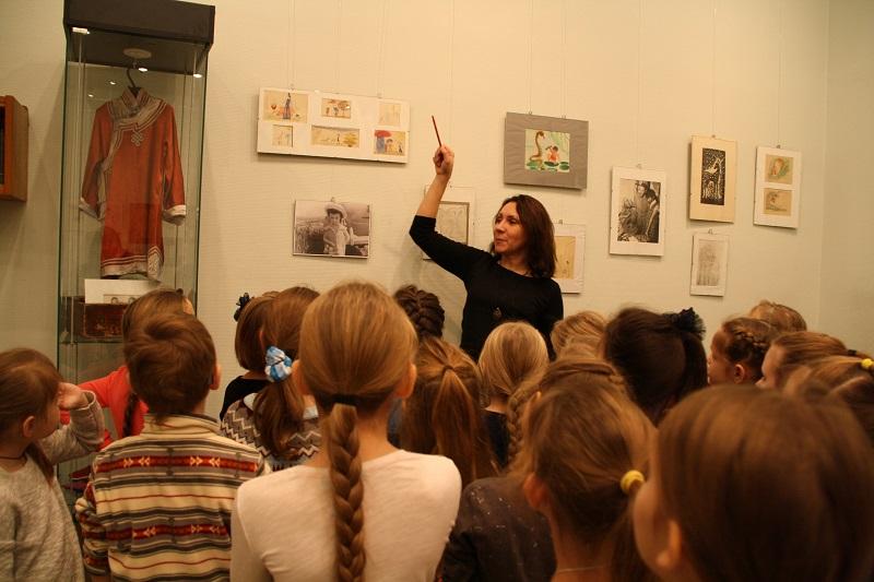 Экскурсия в музее Нади Рушевой