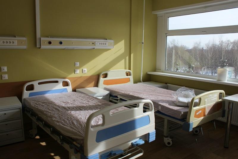 Обновленная палата в больнице имен Буянова