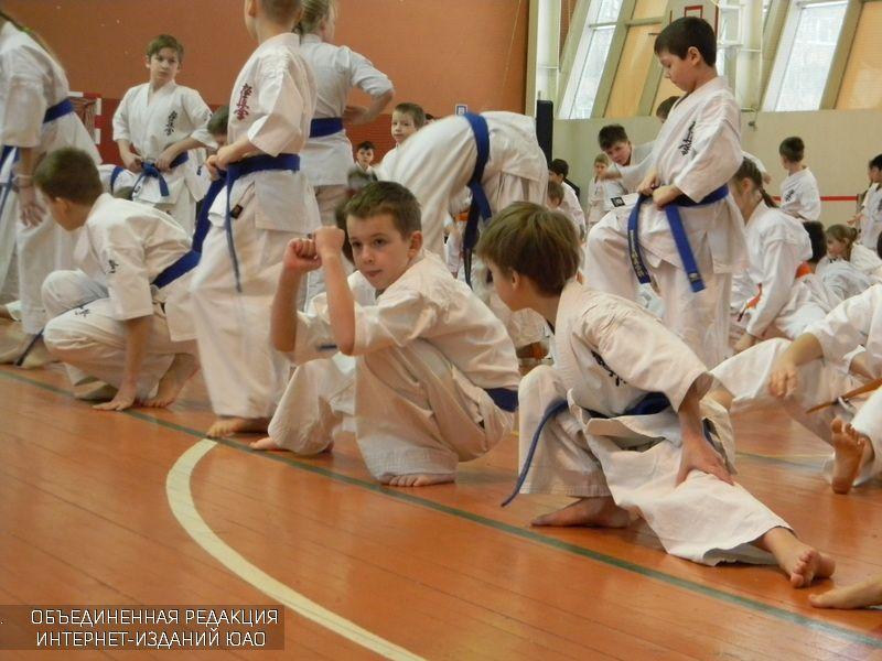 Юные спортсмены в Царицыне