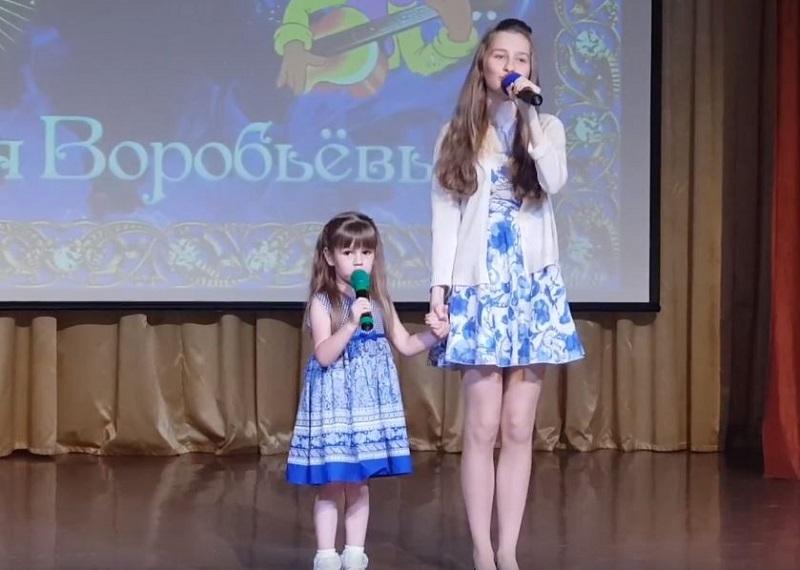На концерте в школе №904