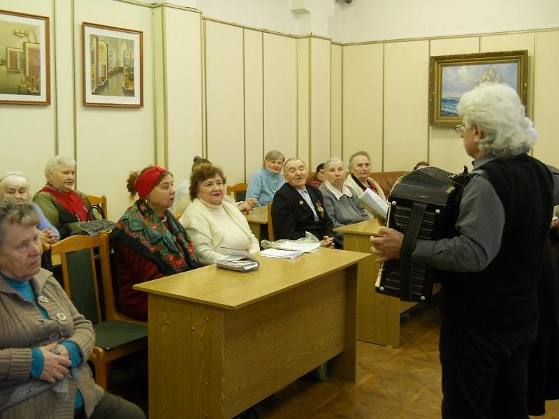 Встреча в библиотеке №141