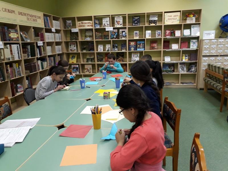 Мастер-класс в библиотеке №141