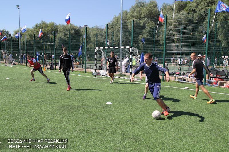 Футболисты ЮАО