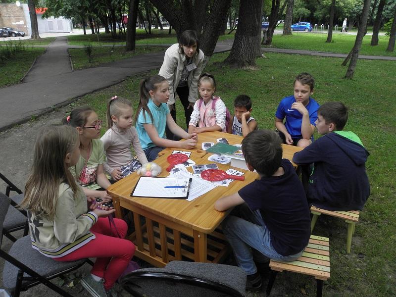 Летняя читальня библиотеки №141
