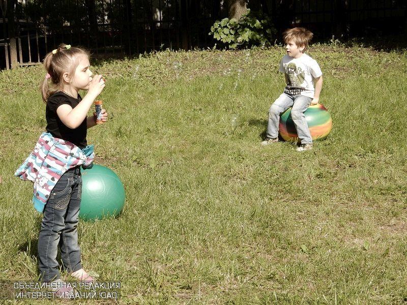 Дети в районе Царицыно