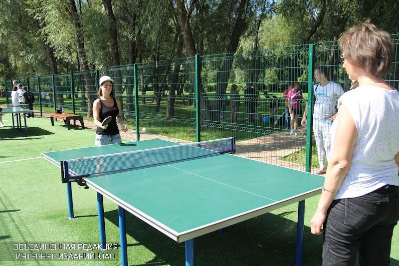 Настольный теннис в ЮАО