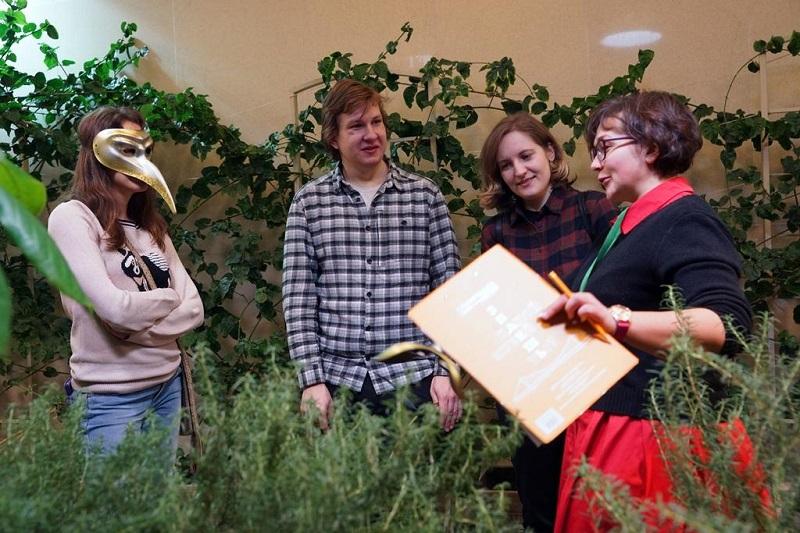 На ботанической беседе