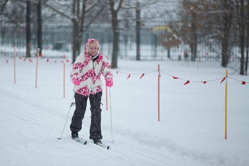 Зимний сезон в «Царицыно» торжественно открыт