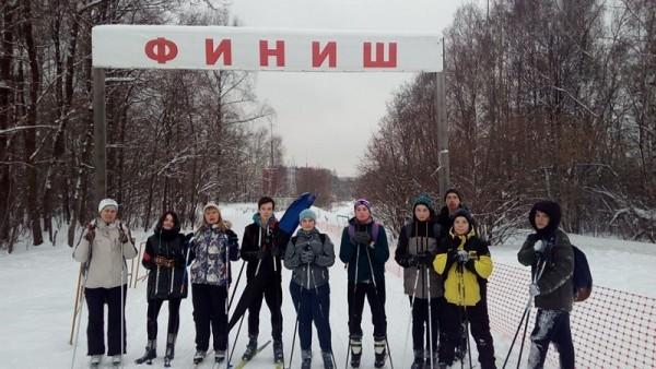 Ребята из школы №904 «активничают» и в зимние каникулы