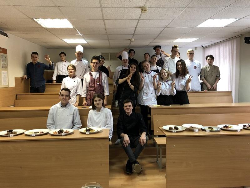 Колледж «Царицыно», Отделение гостиничного и ресторанного бизнеса, конкурс Chef a la Russe 2019, отборочный этап, Всероссийский открытый кулинарный чемпионат среди шеф-поваров