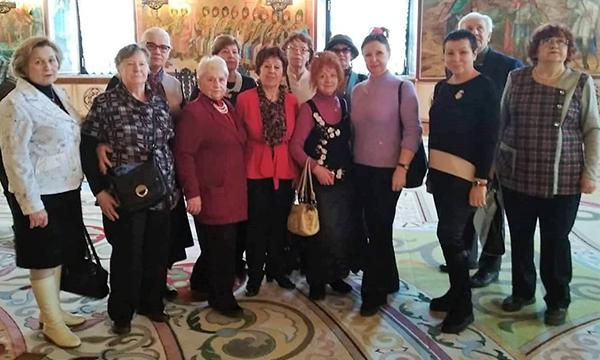 Активисты ЮАО побывали на экскурсии в Большом Кремлевском дворце