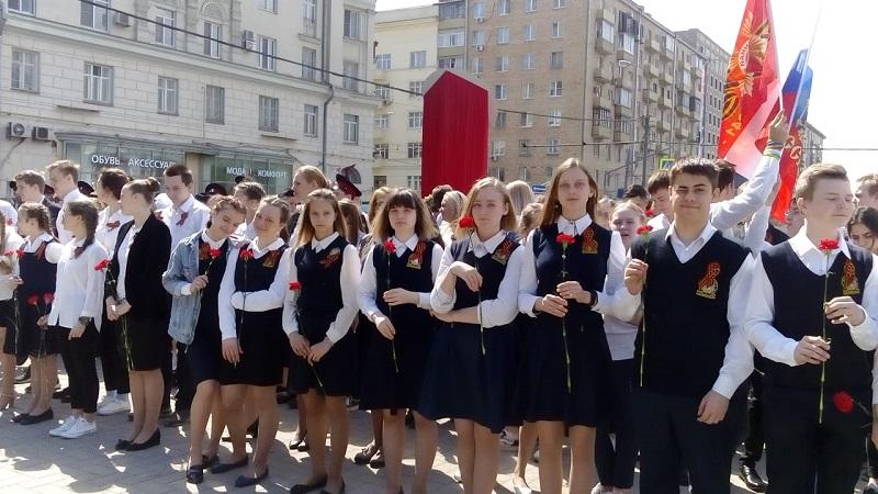 Галина Щербакова, школа 904, проект «Мой район в годы войны», Ирина Белых