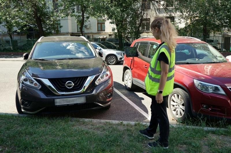 парковки, Московский паркинг, пеший инспектор, набор, женщины