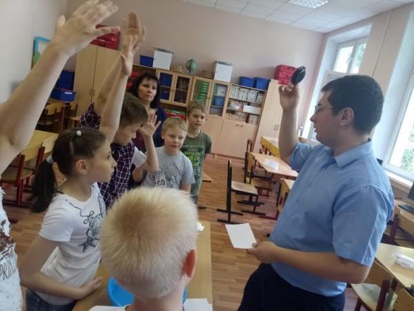 Форт Боярд, «Школа юного детектива», День открытий, Ирина Малкова, школа 870