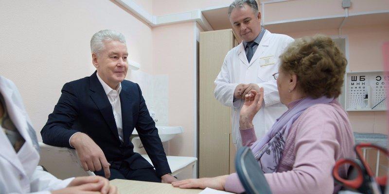 «Московский стандарт+», Сергей Собянин, модернизация, поликлиники, оборудование, врачи