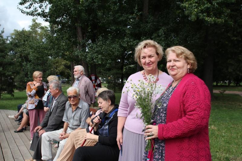В парке «Сосенки» отметили День семьи, любви и верности