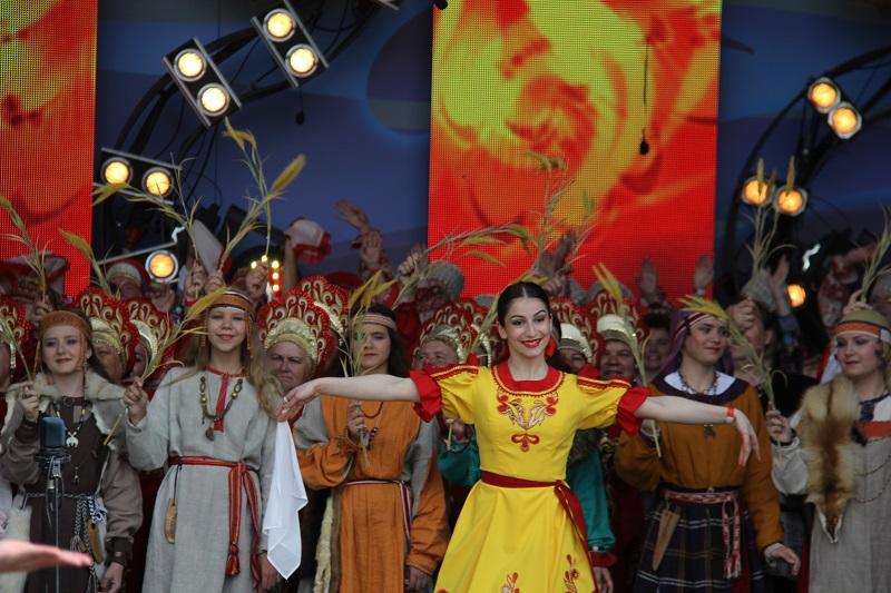 Ежегодный традиционный русский фестиваль прошел в музее-заповеднике «Коломенское»