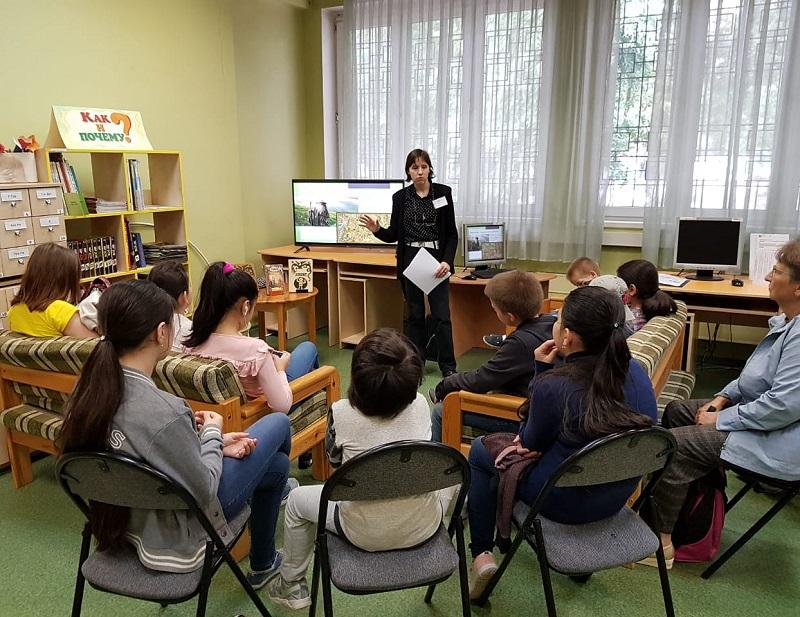Марина Потапова, Детская библиотека 141 «Лукоморье в Царицыно», «Открываем Америку!», познавательный час, «Вокруг света за одно лето»