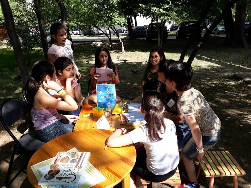 Марина Потапова, Детская библиотека 141 «Лукоморье в Царицыно», «Оч. Умелые ручки», «Вокруг света за одно лето»