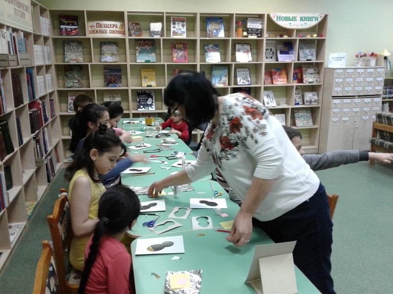 Марина Потапова, Детская библиотека 141 «Лукоморье в Царицыно», «Вокруг света за одно лето»