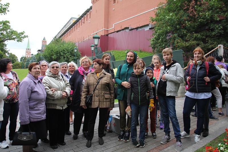 Экскурсия в сокровищницу Кремля