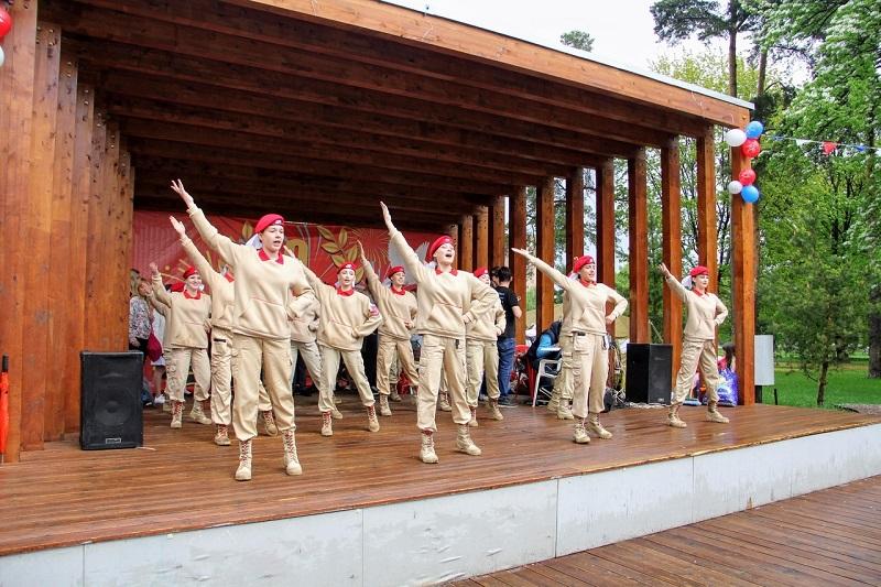 Жители района отметят День ВДВ танцами