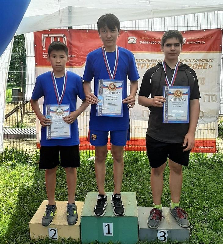 Команда Царицына завоевала второе место в соревнованиях