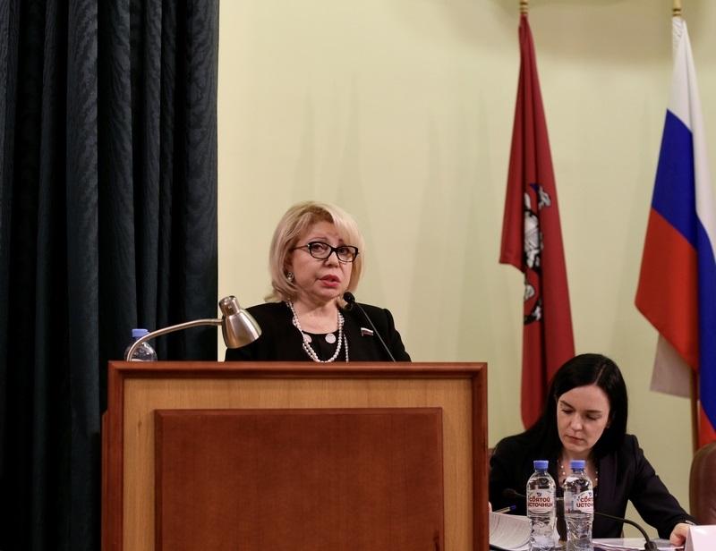 Депутат Государственной Думы Елена Панина встретилась с предпринимателями Южного округа