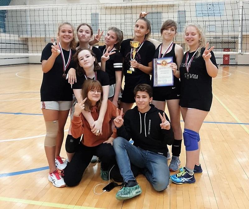 Волейбольная команда Царицына завоевала серебро