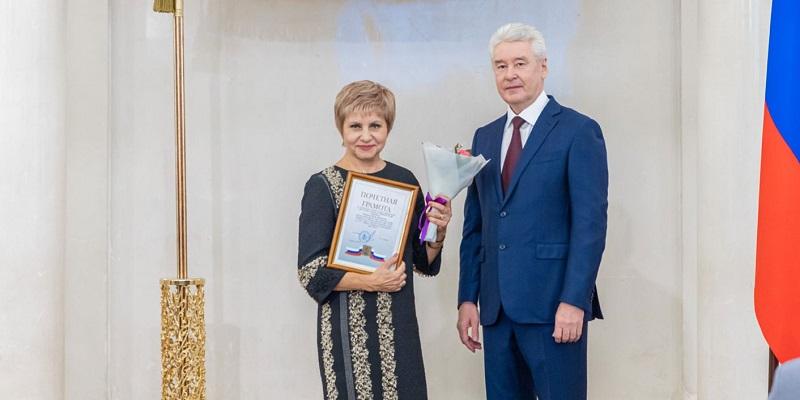 Сергей Собянин, скорая помощь, награды, вручение