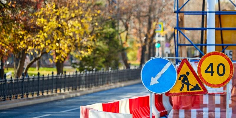 Бакинская улица, ЦОДД, движение, ограничения, инженерные сети, ремонт