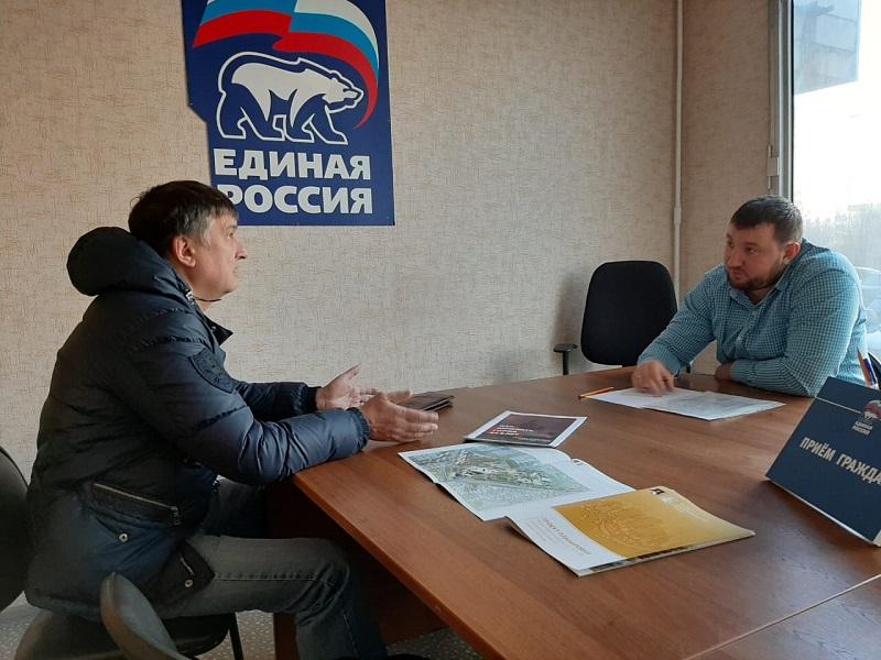 Глава муниципального округа Царицыно провел прием граждан