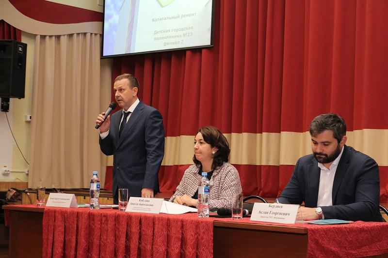 Новый формат: Жители Царицына обсудили реконструкцию детской поликлиники №23
