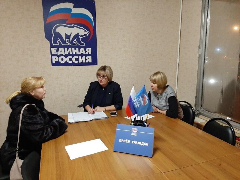 Муниципальные депутаты Царицына Оксана Видутина и Елена Тишкова провели прием граждан