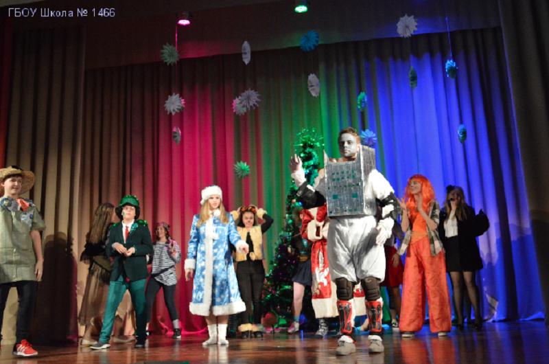 Масштабные празднества Нового года грядут в школе Рушевой