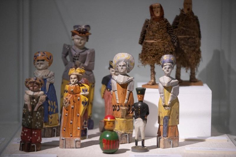 ГМЗ «Царицыно», выставка, экспозиция, «Рождество в дачном Царицыне», Третий Кавалерский корпус, игрушки