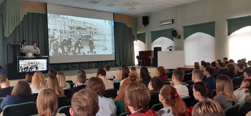 Колледж «Царицыно», блокада Ленинграда, ОГРБ, Ольга Ульяновская
