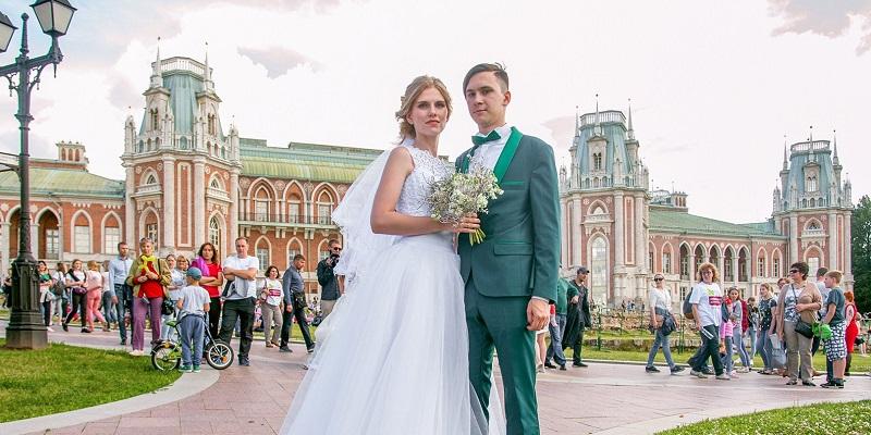 ЗАГС, брак, свадьба, ГМЗ «Царицыно», музей-заповедник «Коломенское», Анастасия Ракова