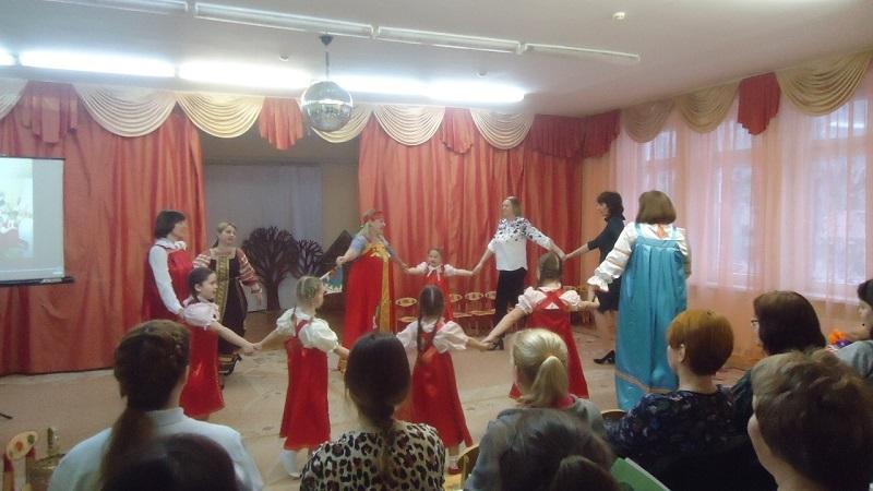 Юлия Вершинина, семинар-практикум, школы 904, народные игры