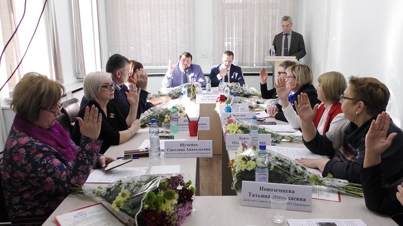 Муниципальные депутаты заслушали информацию о деятельности Городской поликлиники №166 в 2019 году