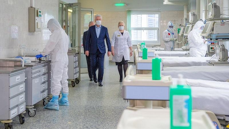 Сергей Собянин, медицинские работники, гостиница, отель, такси, бесплатно, коронавирус, коронавирусная инфекция