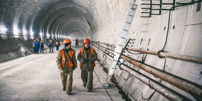 строители бирюлевская линия метро работы тоннель мос ру